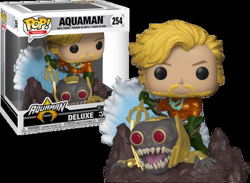 Aquaman - Aquaman Jim Lee Collection Deluxe US Exclusive Pop! Vinyl Figure