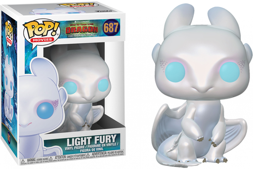 How to Train Your Dragon 3: The Hidden World - Light Fury Pop! Vinyl Figure
