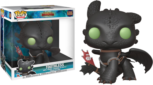"How to Train Your Dragon 3: The Hidden World - Toothless 10"" Pop! Vinyl Figure"