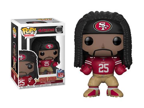 NFL Football - Richard Sherman San Fransisco 49ers Pop! Vinyl Figure