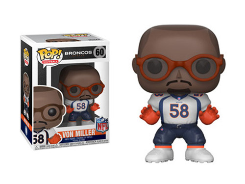 NFL Football - Von Miller Denver Broncos Pop! Vinyl Figure