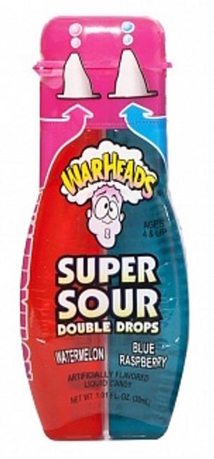 Warheads Super Sour Double Drops (Watermelon + Blue Raspberry)