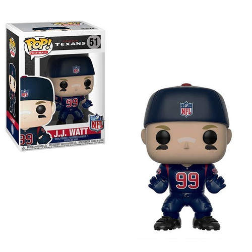 NFL Football - JJ Watt Houston Texans (Color Rush) Pop! Vinyl Figure 4b61c167c