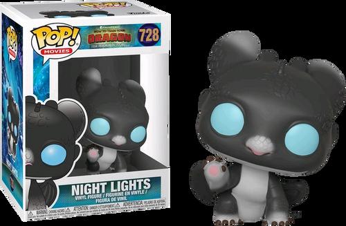 How to Train Your Dragon 3: The Hidden World - Night Lights Black & Blue Pop! Vinyl Figure