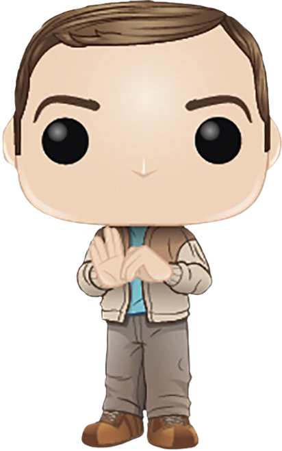 The Big Bang Theory - Sheldon Cooper in Rock, Paper, Scissors, Lizard, Spock Pose Pop! Vinyl Figure