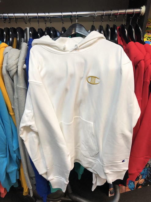 Champion Reverse Weave 100 years White Pullover Jersey