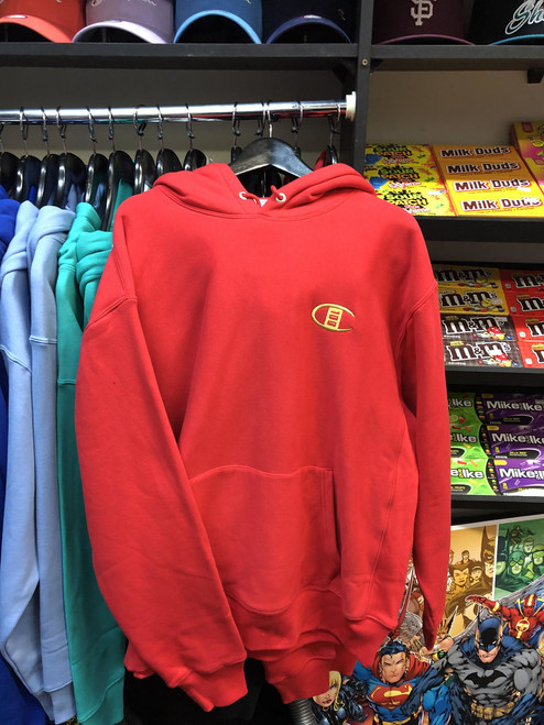 Champion Reverse Weave 100 years Red Pullover Jersey