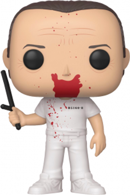 The Silence of the Lambs - Hannibal Lecter Blood Splatter Pop! Vinyl Figure