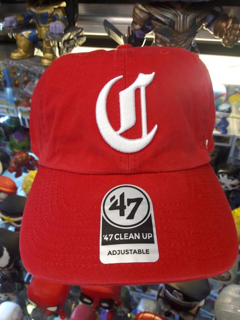 Cincinatti Reds 47Brand MLB Strapback Clean Up Hat
