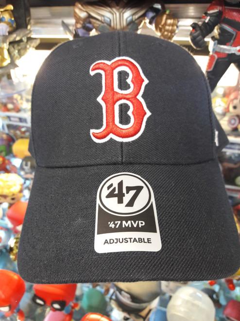 Boston Red Sox Navy 47Brand MLB Snapback MVP Hat