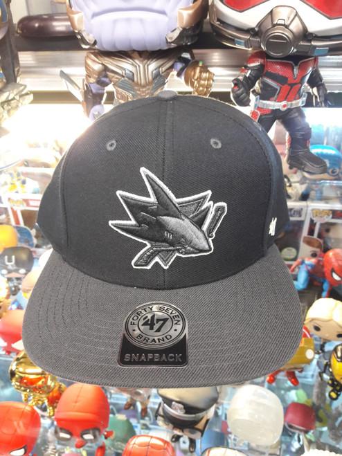 San Hose Sharks Glow 47Brand NHL Snapback Hat