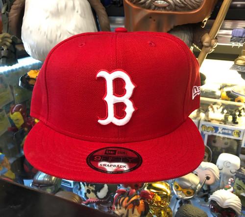 f7f9e44d New York Yankees Logo Red New Era 9FIFTY Snapback Hat - KCT ...