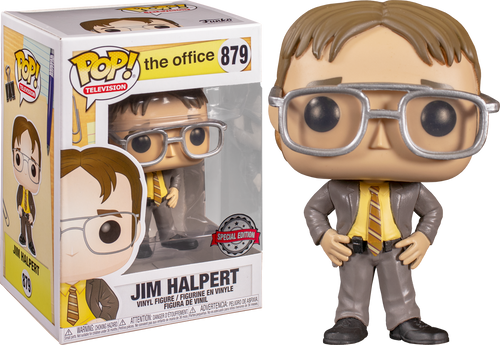 The Office - Jim Halpert as Dwight US Exclusive Pop! Vinyl Figure