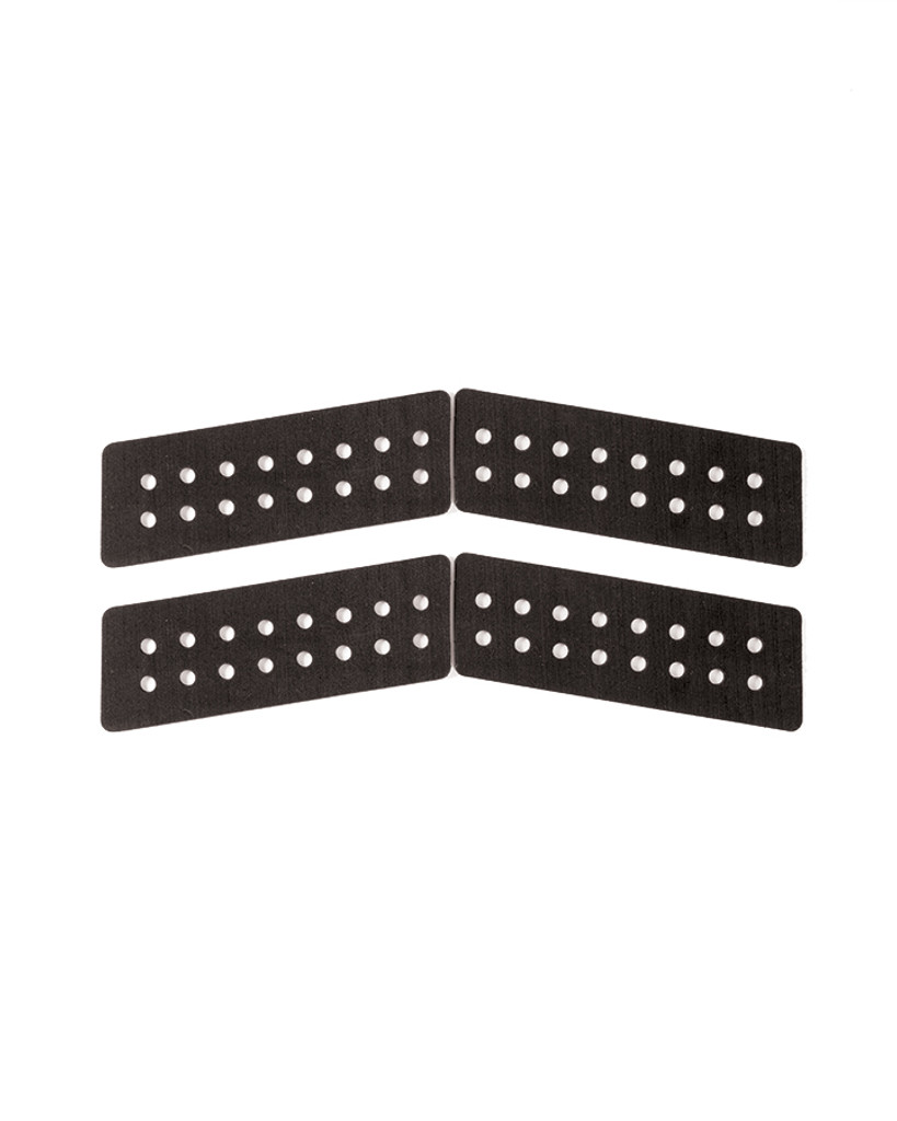 Boomerang 4 Piece Tail Pad - Black