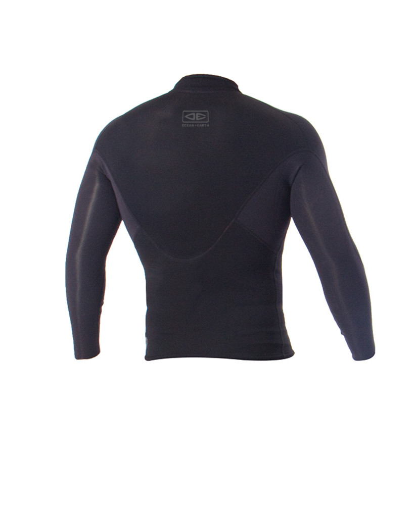 Mens Supa-Flex Long Sleeve Vest - 1.5mm