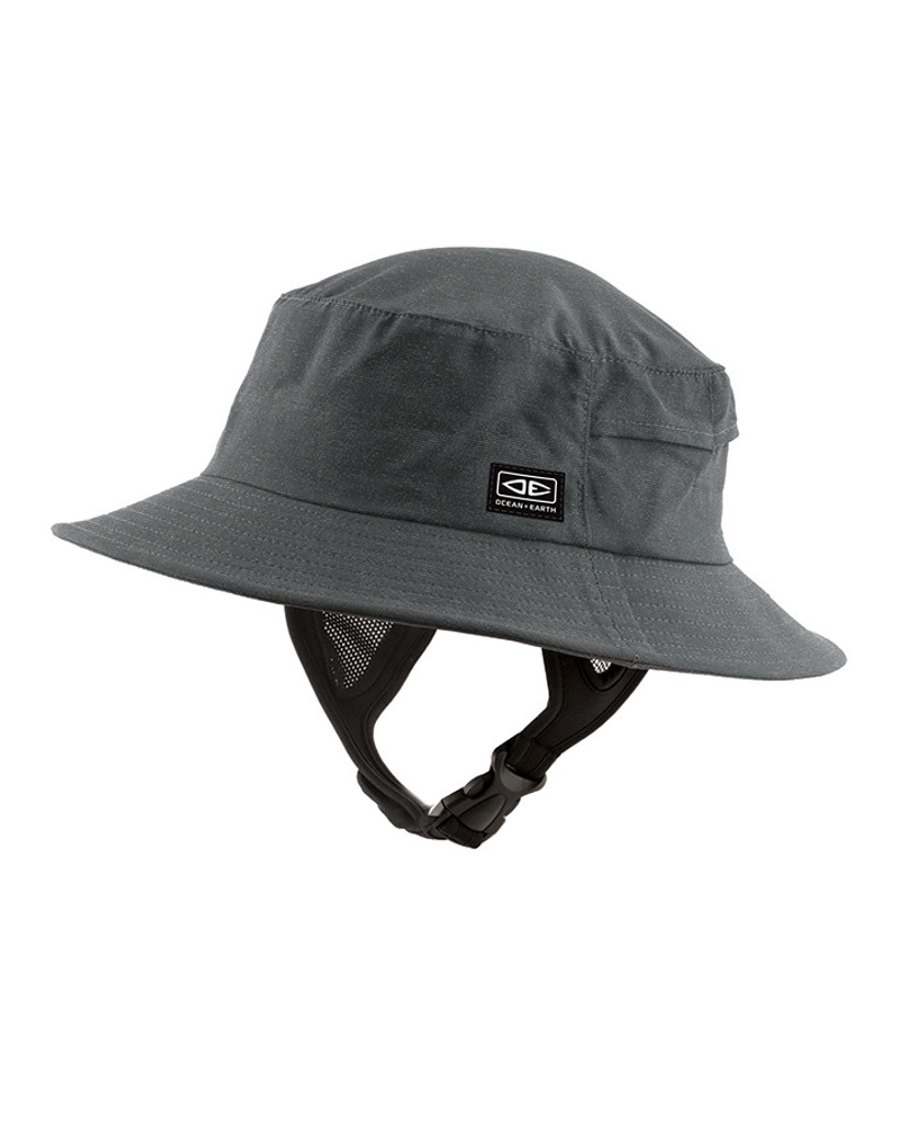 Mens Bingin Soft Peak Surf Hat - Black