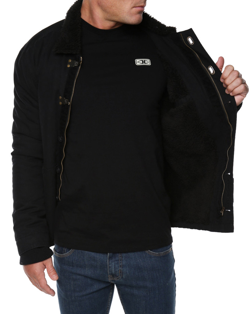 Mens Yardie Jacket - Black