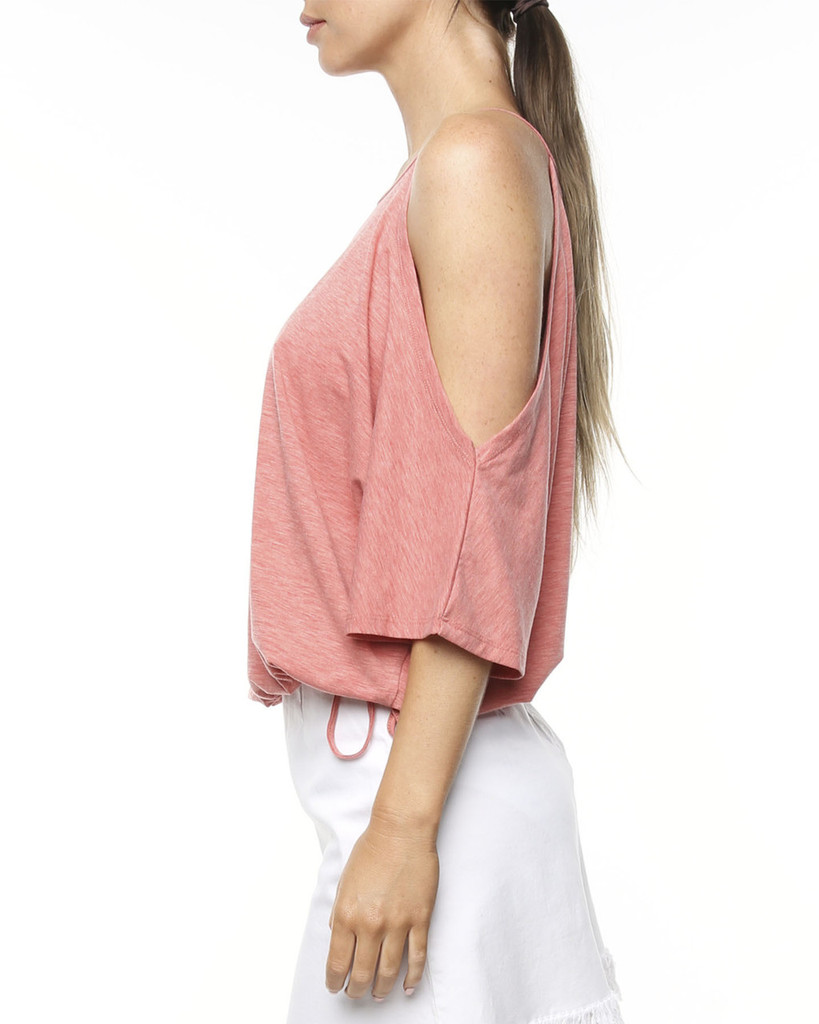 Ladies Sahara Tee - Salmon