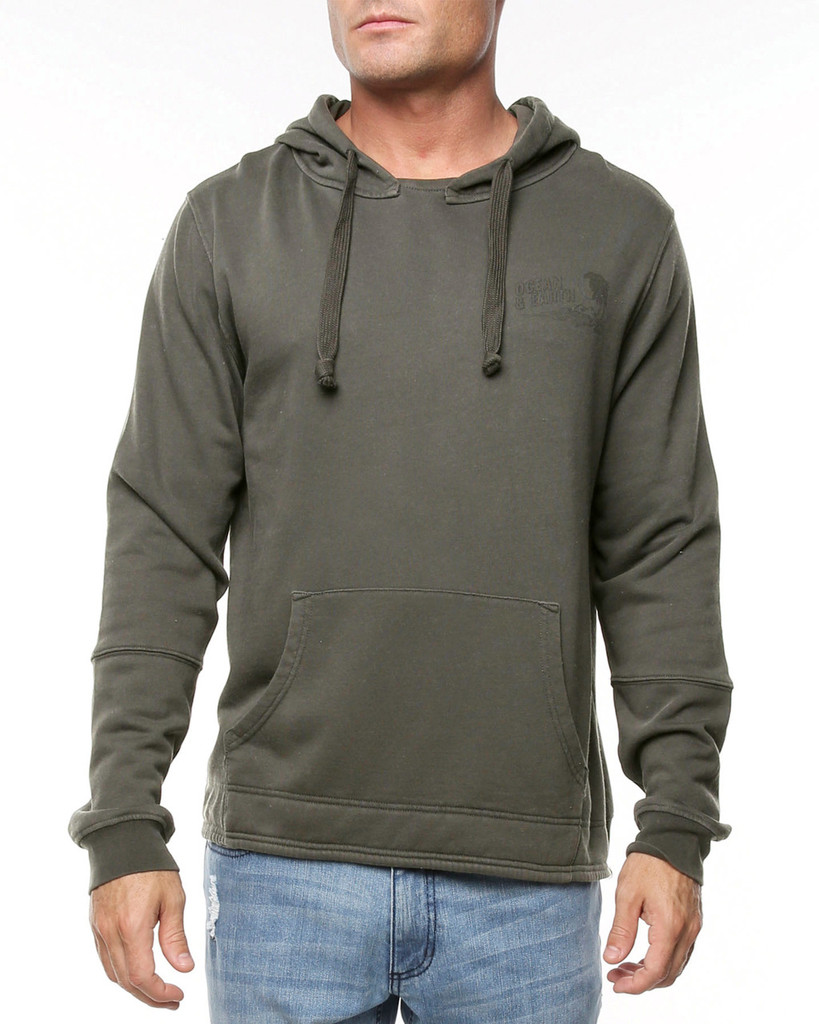 Mens Allday Hoodie-Olive