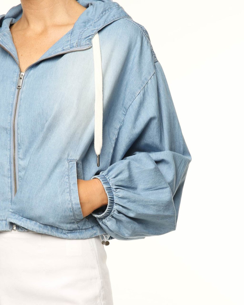 Ladies You & Me Jacket-Blue