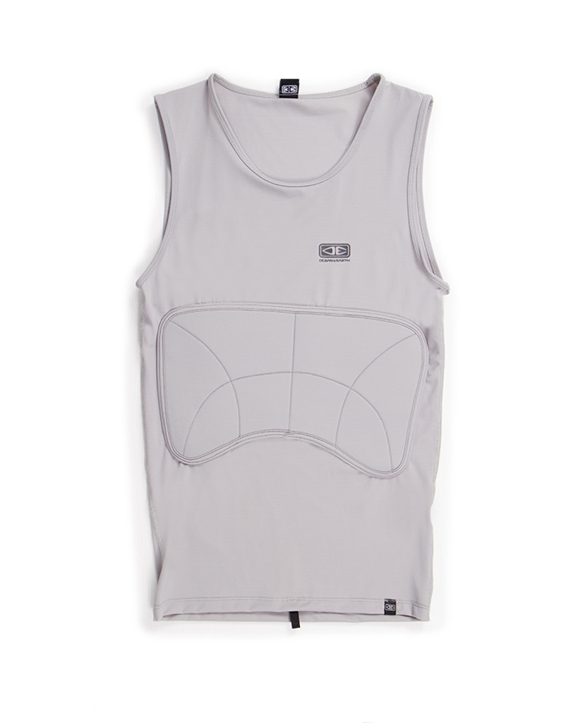 Rib Guard Padded Vest - Grey