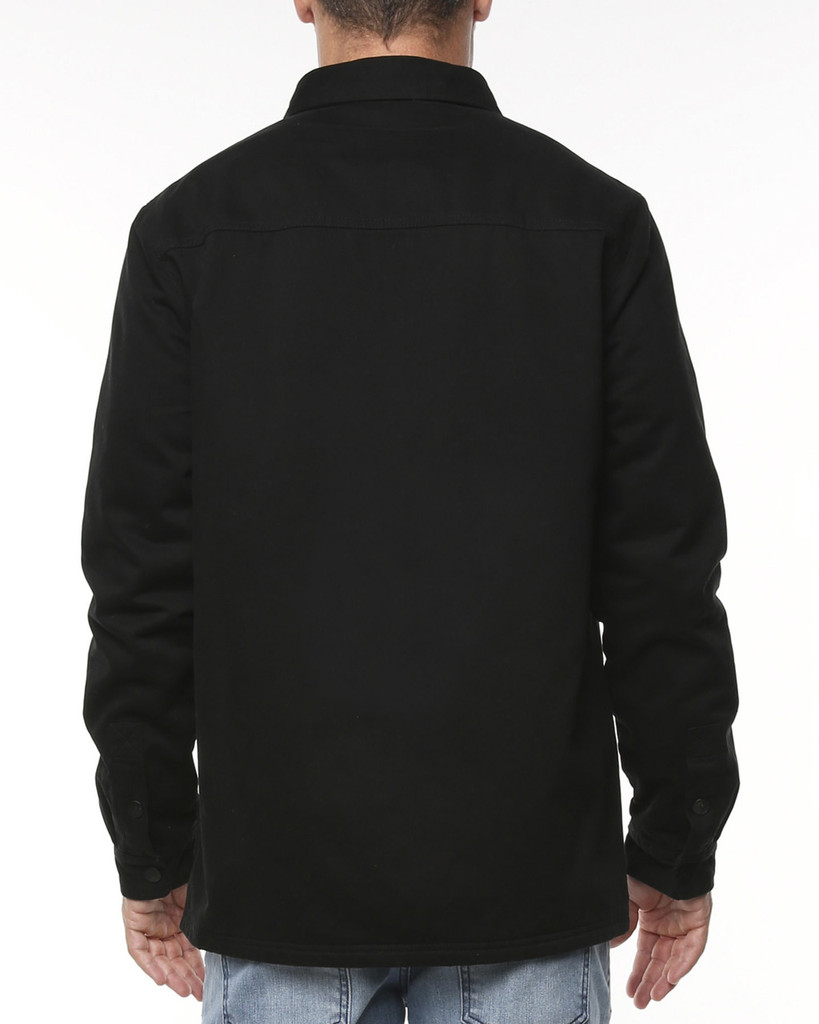 Big Mens Supply Jacket-Black