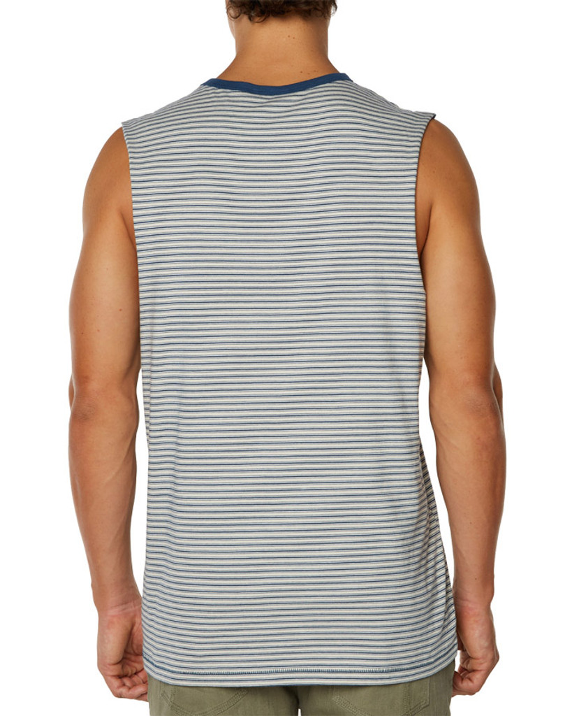 Mens All Nighter Muscle-Navy