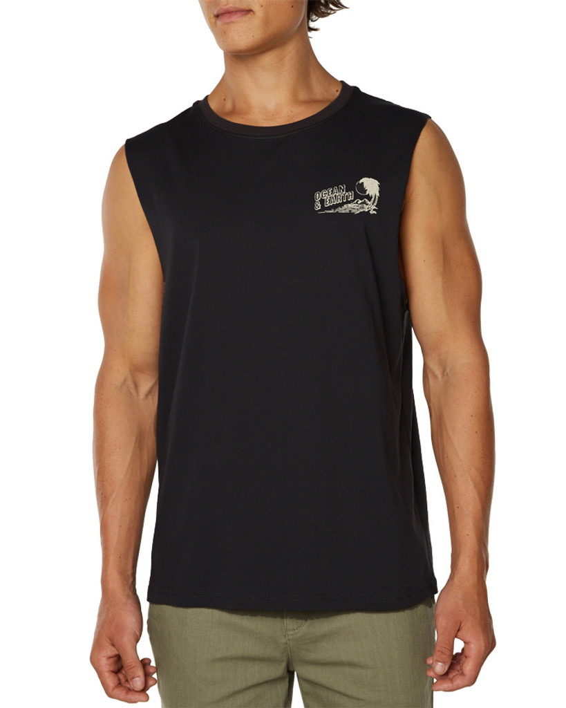 Big Mens All Day  Muscle-Charcoal