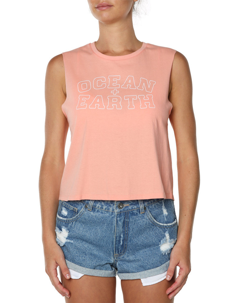 Ladies Zone Tank -Coral Pink