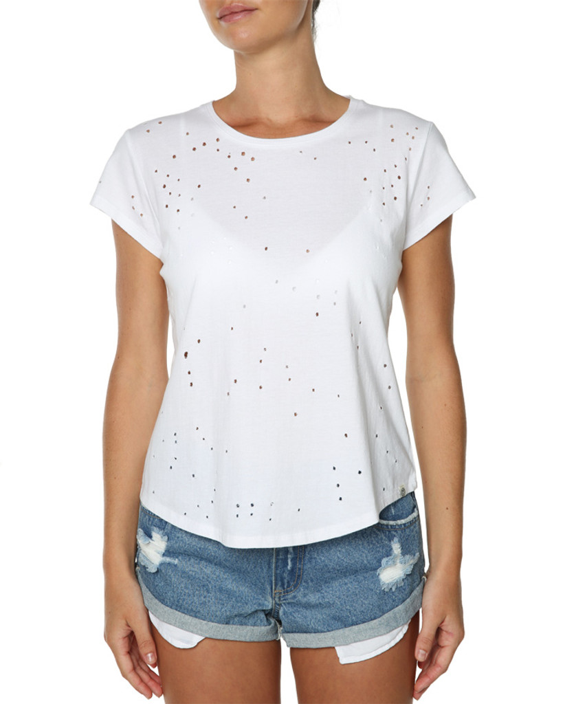 Ladies Fav Tee-White