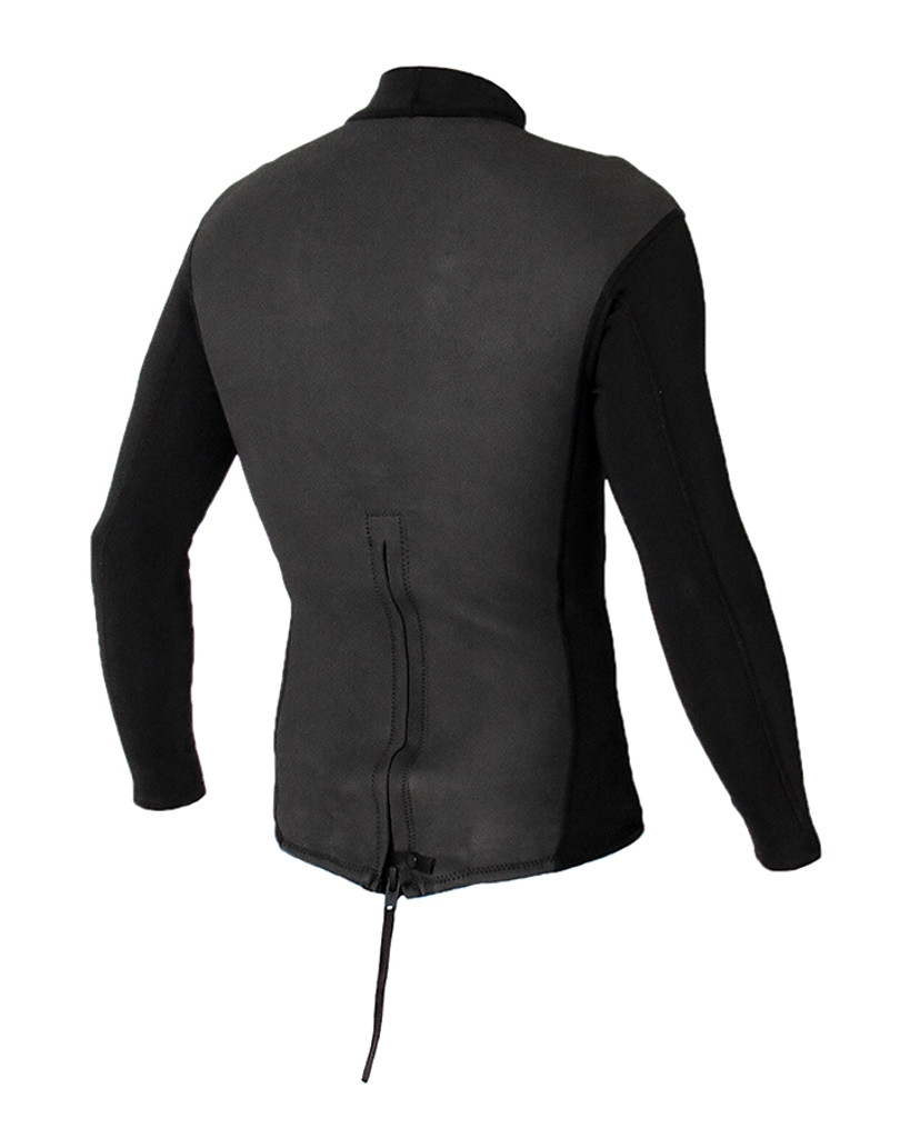 Mens Heritage Back Zip LS Vest - 1.5mm