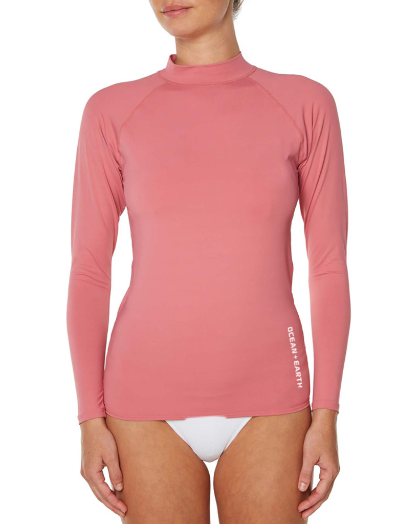 Waves Long Sleeve - Dusted Pink