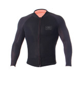 Mens Long Sleeve Zip Paddle Vest - 1/5mm