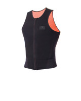 Mens Sleeveless Front Zip Paddle Vest - 1.5mm