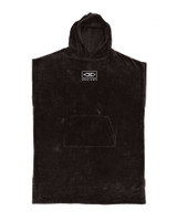Mens Corp Hooded Poncho - Black