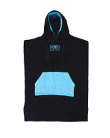 Mens Daybreak Hooded Poncho - Blue