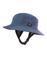 Mens Bingin Soft Peak Surf Hat - Blue Marle