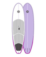 Cruiser Epoxy/Bamboo SUP Board - Mauve 10'6""