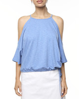 Ladies Sahara Tee - Blue