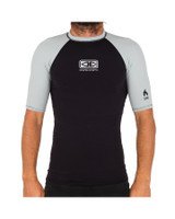 Mens Flame Thermo Short Sleeve Skin - Light Grey