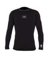 Mens Flame Thermo Long Sleeve Skin - Black