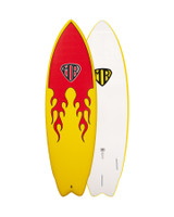 MR Epoxy Twin Fin Softboard 6'0""