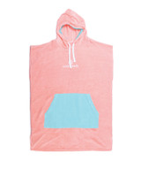 Youth Day Dream Hooded Poncho - Shell Pink