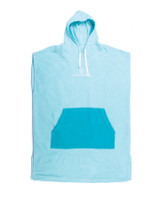Youth Day Dream Hooded Poncho - Pale Aqua