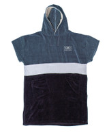 Mens Strike Hooded Poncho - Navy