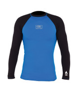 Mens Flame Thermo Long Sleeve Skin - Blue