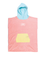 Toddlers Hooded Poncho - Shell Pink