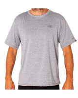 Mens Surf SS Shirt - Grey Marle