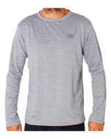 Mens Surf LS Shirt - Grey Marle