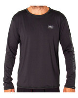 Mens Surf LS Shirt -Graphite